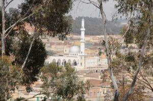 Asmara vista dall'alto
